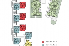 Zwei-Zimmer-Wohnungen im 2. Onergeschoss