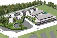 Draufsicht Wohnpark Heide - Menden